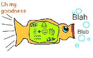 Babelfisch-Zeichnung von Livia Grupp